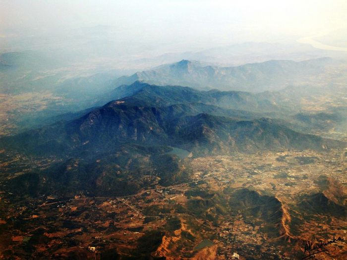 Taking Photos in Aeroplane Tertain Aerial Shot Aerial Photography Aerial View Sky High Dirt Earth Rocky Hills Sneaking Pictures on the way to Mumbai The Great Outdoors - 2016 EyeEm Awards