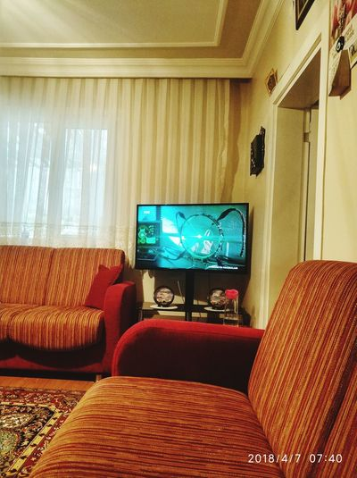 Living Room Arts Culture And Entertainment Chair Home Showcase Interior Television Set Home Interior Sofa First Eyeem Photo