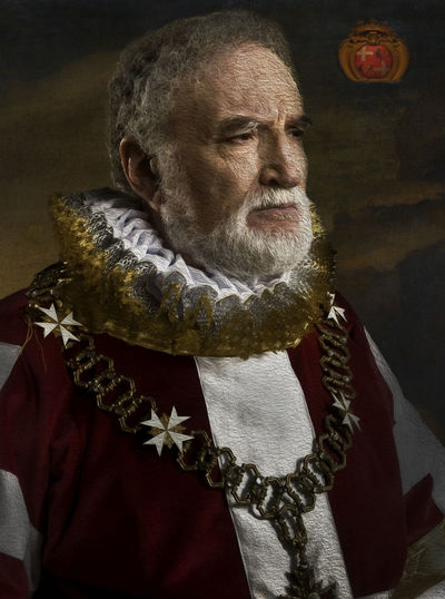 Grandmaster Jean Parisiot de la Valette Jean Parisiot De La Valette La Vallette Beard Close-up Grandmaster Knight Of Malta Knights Of The Order Of St. John La Valette Men One Person Real People Senior Men