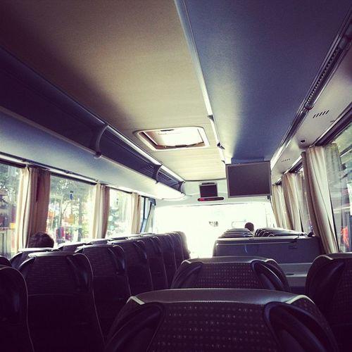 Geschäftsstelle Hamburg unterwegs \o/ Zu zwölft in einem Reisebus.