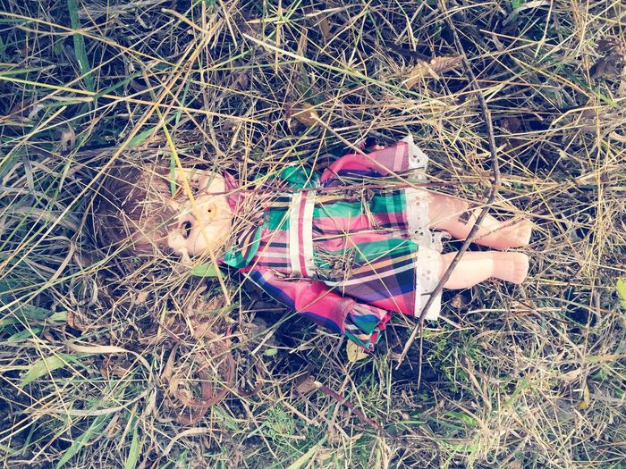 Doll Doll Photography Found Lost Long Grass Discarded Creepy Weird Weirdography