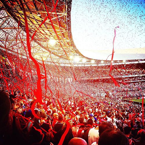 Feijenoord Rotterdam Igersrotterdam De Kuip Kuip Party Party Time Nederland Holland Taking Photos Enjoying Life