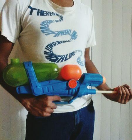 Today, someone dies Gun Toy Its Me Killer Photography GoodFriday  Watergun