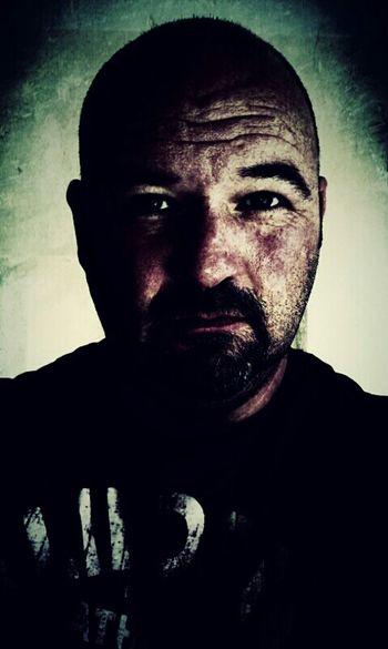 Me Self Portrait Portrait Grunge Hello World