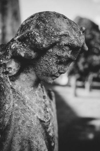 Blackandwhite Black&white Statue Graveyard Graveyard Collection Graveyard Beauty