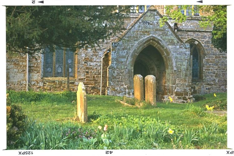 Church Door Graveyard Country Drive Graveyard Beauty Sandstone Fawsely Church