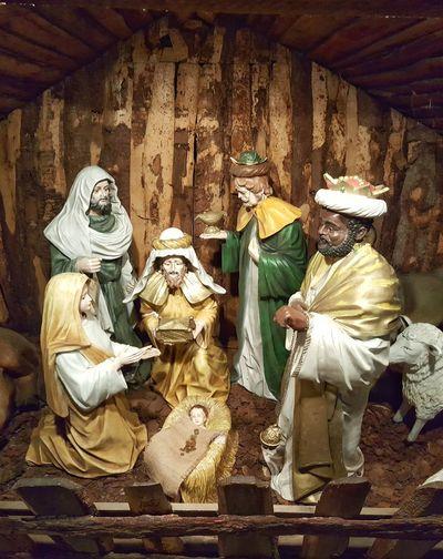 Nativity Scene Crib Christmas Christmas Story Baby Jesus