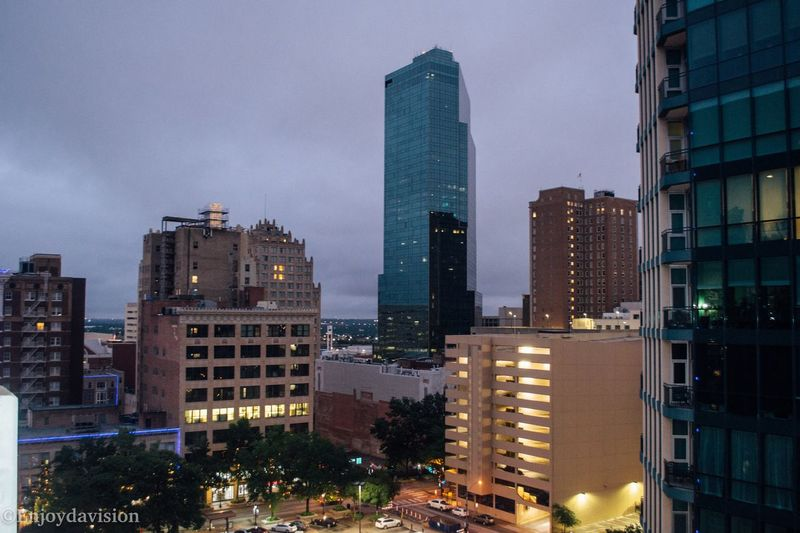 Rooftop view of the city. Enjoydavision VSCO Dallas Texas Enjoying Life Beautiful Photographer Streetphotography Downtown Fort Worth DFW Fort Worth Photography Vscocam VSCO Milliondollarvisuals Visual Creativity Illuminated Skyscraper Sunset Office Downtown District Aerial View Office Building Storm Cloud High Rise Tall - High