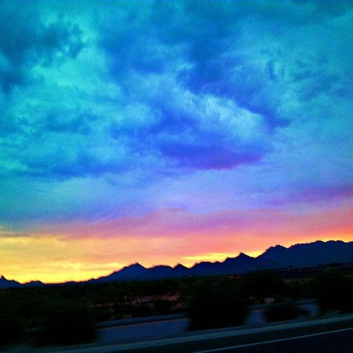 Instagramaz Scottsdaleaz Sunrise Igarizona Colorful Cloudydays Skyporn Cloudporn Cloudwatching Mountain Silhouette Desertlivin Casinotrip Awesomeview Igsunrise Igdesert @arizonaskies @____sun_rise_earth_____ @ibeautyofnature Igersphx Driving Fluffyclouds Goodmorning Arizona Arizonahighways Instagramhub Insta_pick_skyart PixlrExpress saturdaymorning :)