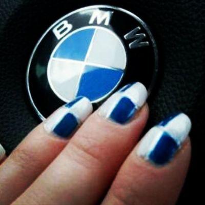 Takie Piekne Paznokcie Bmw wielka miłość najpiękniejszy manicure love instalike instaphoto instanails f4f followforfollow follow4follow likeforlike l4l spam4spam lovebmw
