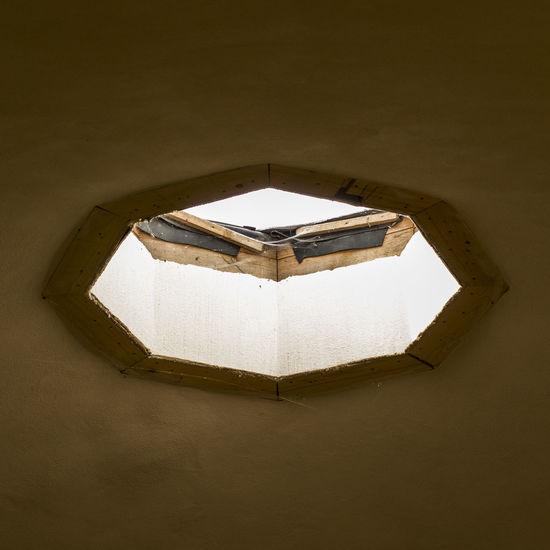 Low angle view of window
