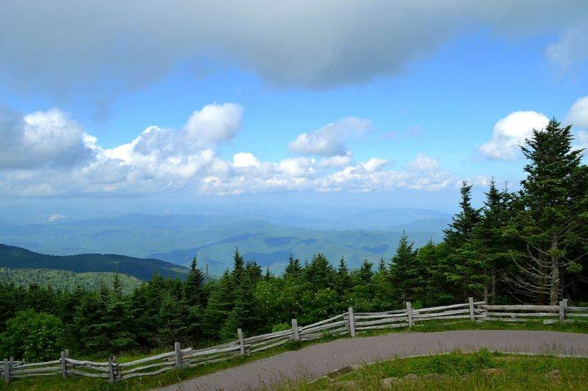 From highest peak in USA east of Mississippi River, Mount Mitchell, NCMountain View Mountains And Sky Mountain Range Mountains Mountain Hiking Mountain Peak Mount Mitchell North Carolina