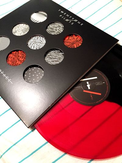 •||i\•*+| When they said it would ship in July, I sure as hell didn't expect the literal last day. ITS FINALLY HERE IM SO PUMPED. |+*•\i||• Twenty One Pilots TwentyOnePilots Vinyl Music Alternative Tyler Joseph Josh Dun Blurryface Album Sick As Frick