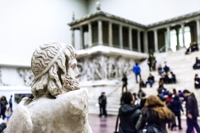 Discover Berlin Greek Pergamon Pergamon Museum Pergamonmuseum Temple Dionysus HEAD Marble Ancient Civilization Ancient Architecture Berlin Germany Deutschland Culture History Art