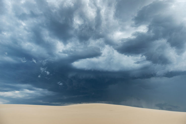 Proportions Australia Desert Dramatic Sky Dunes Abstract Blue Sky Cloud - Sky Clouds And Sky Contrasting Colors Danger Dramatic Clouds Dunescape Fading Landscape No People Peaceful Proportions Sand Sand Color Sand Dunes Sand Storm Sky Stockton Dunes Storm Cloud Storm Clouds