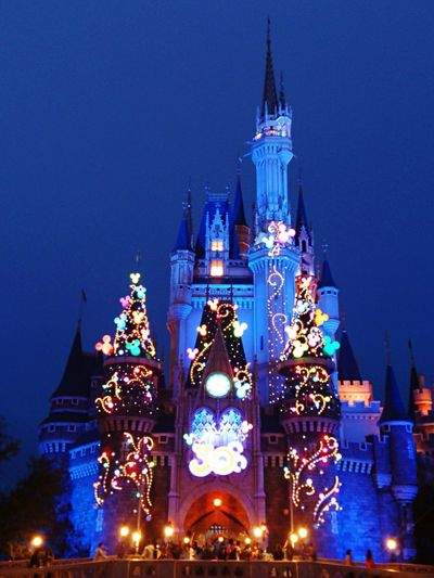 Tokyo Disney Land 30th 30th Anniversary Cinderella Cinderella Castle Cinderellascastle Night Nightphotography Night Photography Night Lights