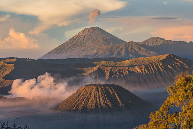 Scenic View Of Mt Bromo Against Sky