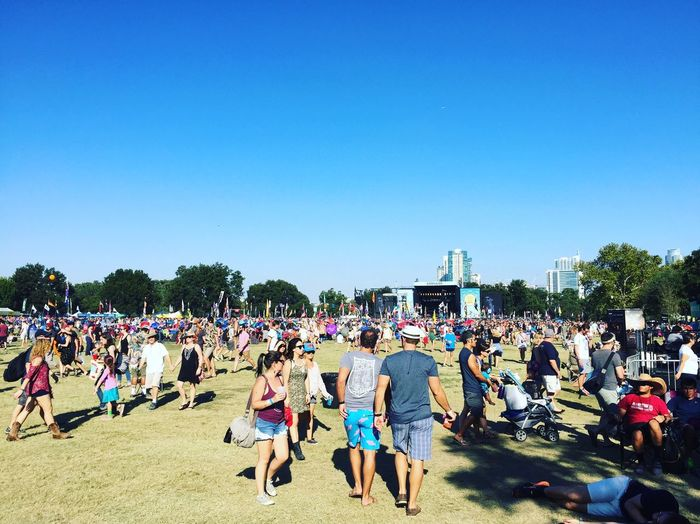 Austin City Limits ACL 2016 Large Group Of People Clear Sky Person Blue Tree Leisure Activity Crowd Men Lifestyles Tourist Full Length Copy Space Togetherness Casual Clothing Travel Destinations Vacations Tourism Day Outdoors Enjoyment Acl Austincitylimitsmusicfestival Austin