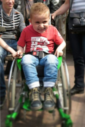 Today we had a motor tour ride for this little fellow Dyon. He is 5 years old and suffering of Duchenne for 2 years and can't barely walk... We raised €1800 for a new wheelchair with 98 brave bikers! Every Picture Tells A Story EyeEm 👌❤Everyday Emotion Duchenneheroes Duchenne Smile Duchennesucks Proud