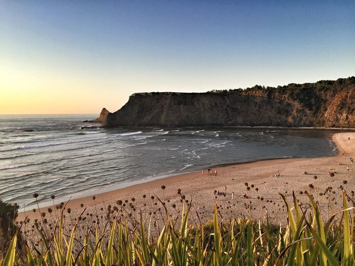 Awaiting Sunset Beach Costa Vicentina Bay Portugaligers Portugal_lovers Portugalcomefeitos Wu_portugal Warm Colors
