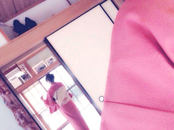 入学式♡PAT③ 入学式 桜色 和服