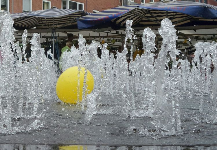 Fontain Water Geel Yellow Kzoom
