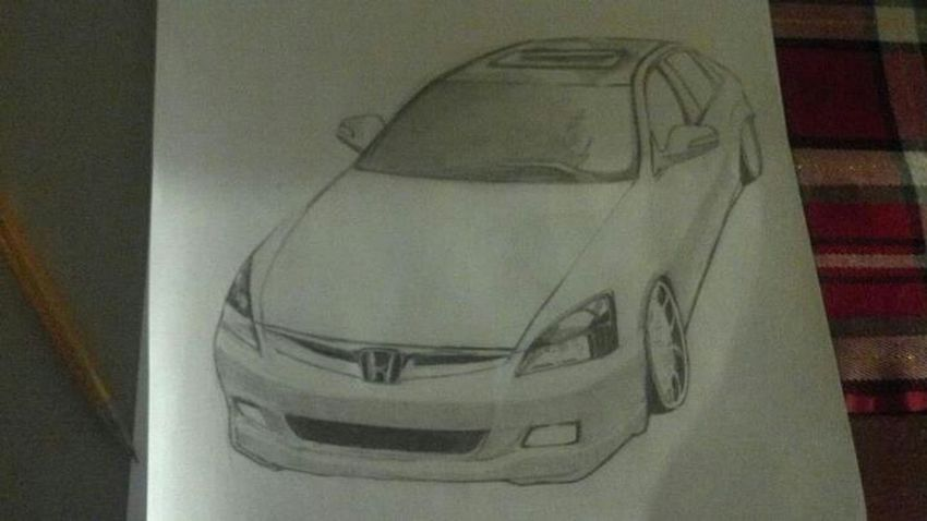 Honda accord (i do not own this pic) Drawing Honda Jdm Jdmworks Accord VTech