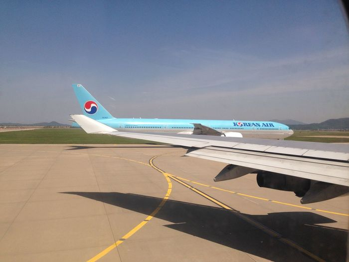 B747 Koreanair Traveling