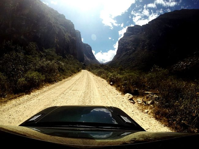 On The Road Peru Gopro Shots Range Rover Sport