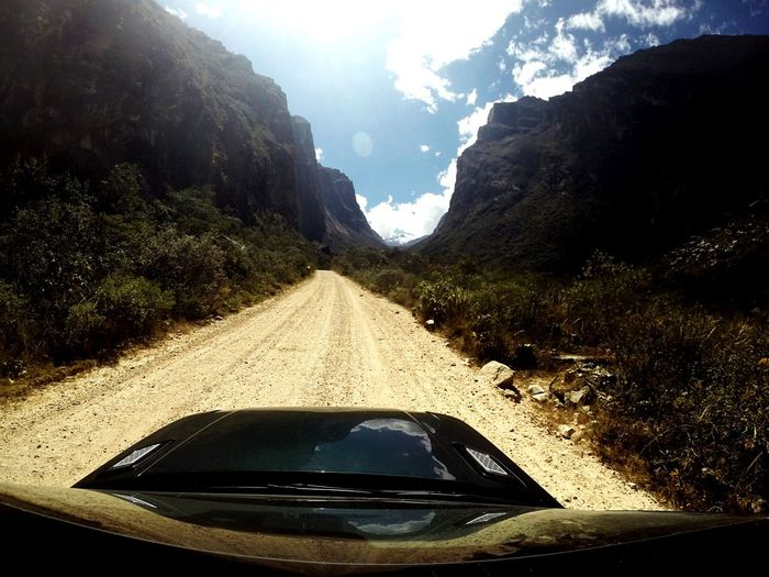 On The Road Peru Gopro Shots Range Rover Sport