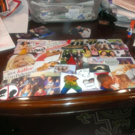 My vision board!! Visionboard Project Loveit