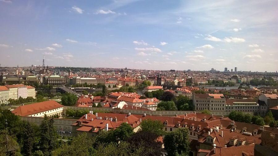Awsmm view of Prague Hello World