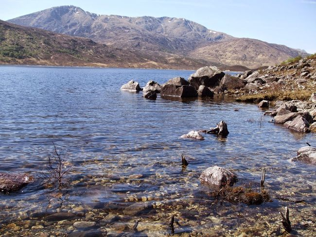 Loch  Mountain Outdoors No People Landscape Mountain Range Day Nature