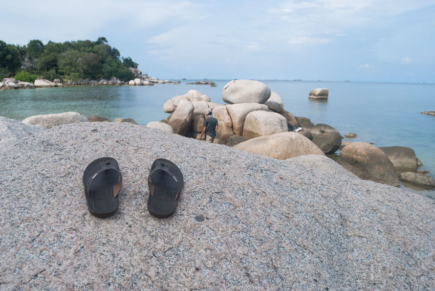 Time to go to the beach Beach Beauty In Nature Bintan  Bintan Island Bintanisland Cloud - Sky Coastline Day Nature Outdoors Sand Scenics Sea Shore Sky Surface Level Tourism Tranquil Scene Tranquility Trikorabeach Two Is Better Than One Vacation Vacations Water