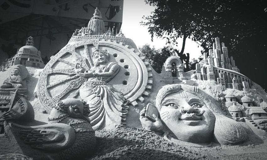 Sandart Odisha Grey TheGreySay Thatperfectshot_ DelhiGram Dailydiary Myshoesboxofphotographs Mycreativefeed ArtWork Vscocam Eye4photography  EyeEm Gallery Myedits Sandytoes Sand Art