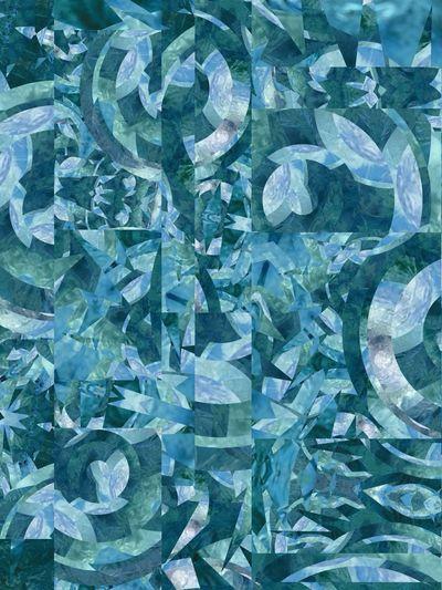 Blue NEM Abstracts Fltrlive Machine Dreams