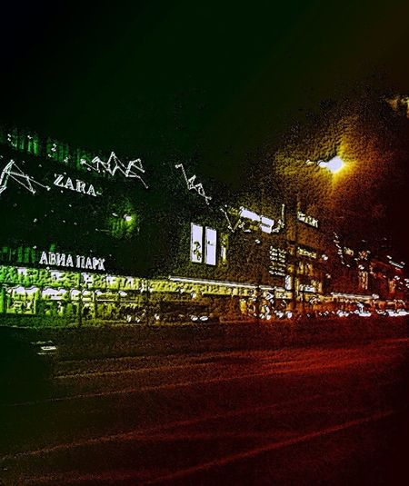 First Eyeem Photo Fotor Color Dark Art Art Aviapark Moscow City Moscow Nightphotography