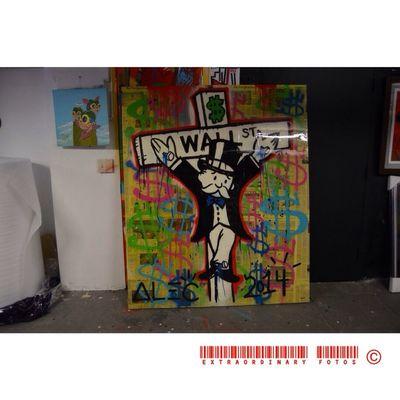 Business Man Monopoly Art Wallstreet
