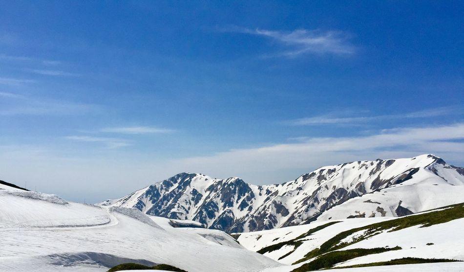 Japan 雪 山頂 立山黑部 2390m