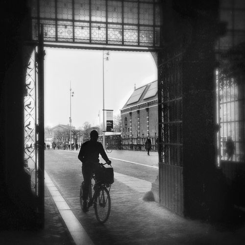Celebrate Your Ride Urban Landscape Street Photography Streetphoto_bw Bicycle Blackandwhite Photography in Amsterdam