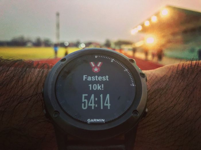 Garminfenix3 Garmin Close-up Text Communication Focus On Foreground Human Body Part Human Hand Time Day