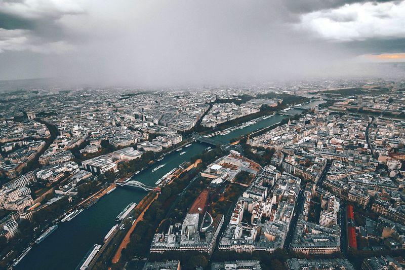 Rainy Paris ❤️🗼 Paris France Lonelyplanet Awesomephotographers Beautifuldestinations EyeEm Best Shots EyeEmNewHere EyeEm Selects City Cityscape Urban Skyline Aerial View Skyscraper Sky Architecture Building Exterior Cloud - Sky Foggy Overcast Cloudscape Dramatic Sky The Traveler - 2018 EyeEm Awards