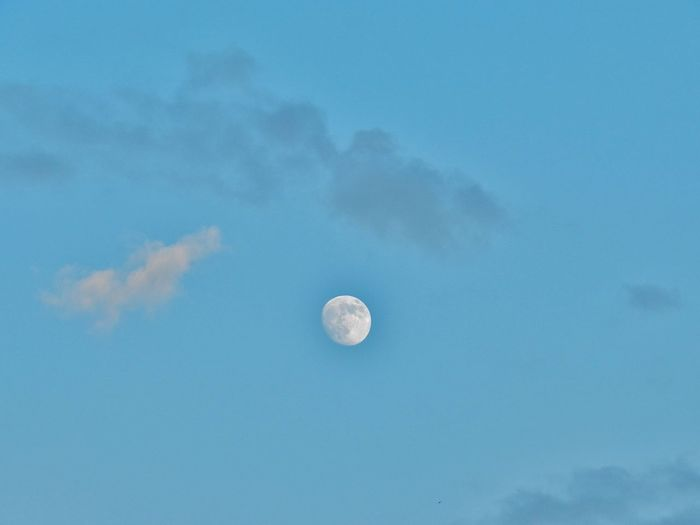 Moon Beauty In Nature Sky Clouds And Sky Eye4photography  Taking Photos Hi! EyeEm Nature Lover