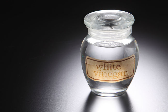 white vinegar at the black background Food And Drink Liquid Acetic Black Background Clear Close-up Condiment Container Cut Out Drink Food And Drink Glass - Material Indoors  Ingredient Mineral Oil No People Savor Single Object Still Life Studio Shot Table Transparent Vinegar Water White Vinegar