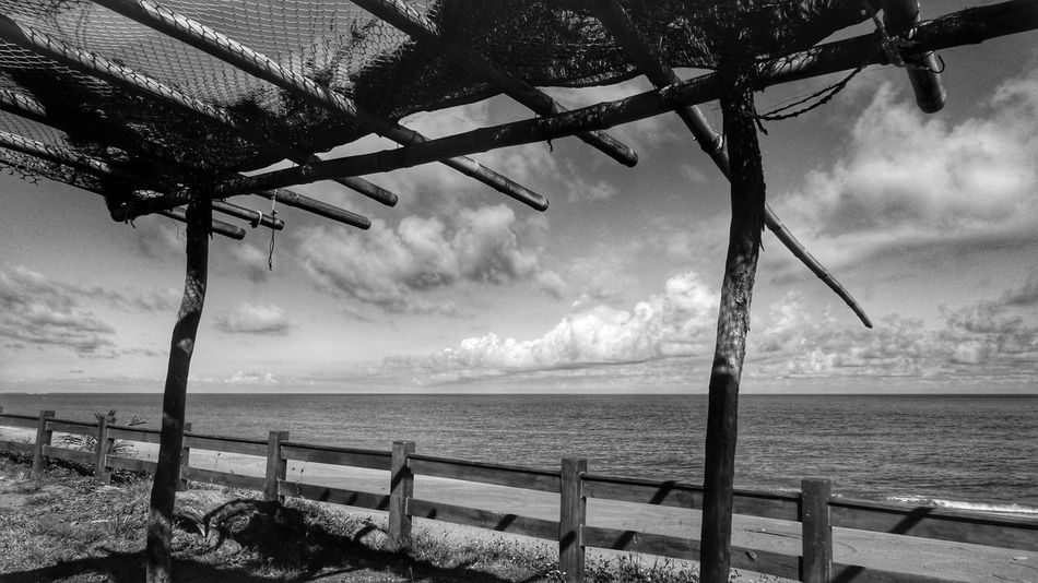 taiwan Sea Sea And Sky Whiteandblack 台湾 海滩 海景 看海 太平洋 The Great Outdoors - 2016 EyeEm Awards Black And White