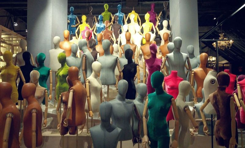 Mannequin Clothing Store Fashion Doll No People Market Store Colors EyeEm Selects