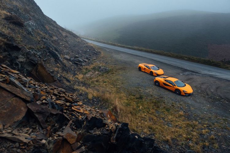 MRJWW promo, Elan Valley Mid Wales Supercars Britishweather Wales McLaren Mrjww Water