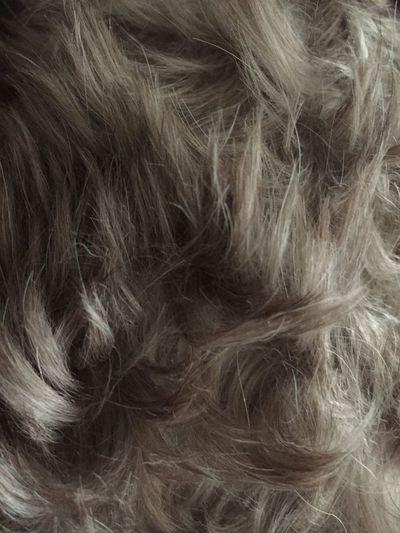 Close-up of hair