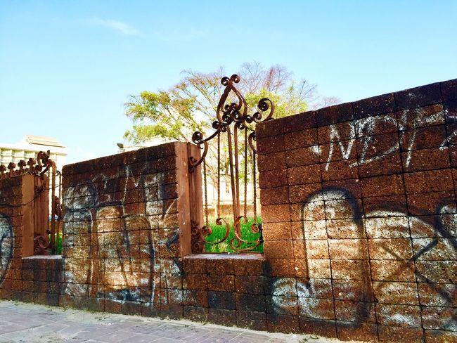 Old wall Graffiti Wall Sunnyday Travel Photography Iphone6 18/11/15