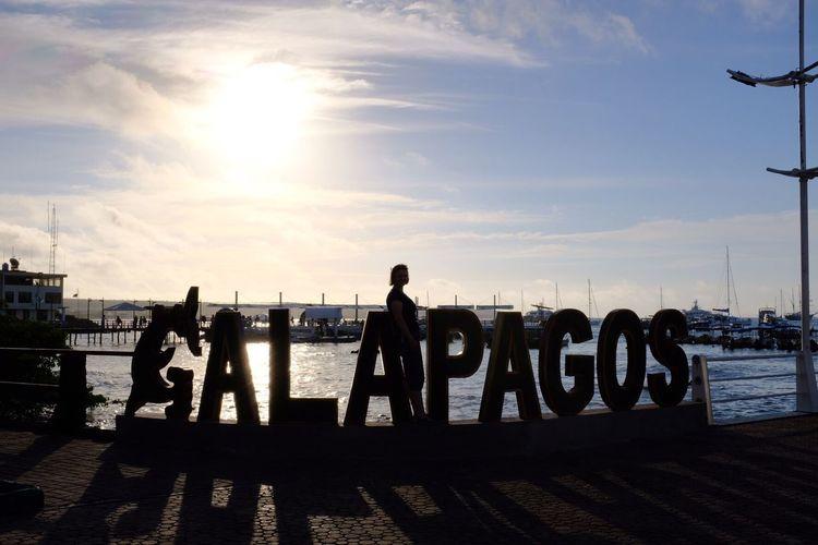 Galápagos spelt out